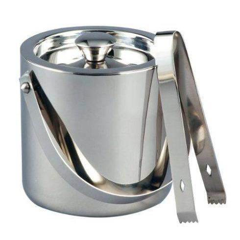 Babcock Exclusives  Leeber Limited Ice Bucket 3quart w/ Tongs LEE-037 $81.00