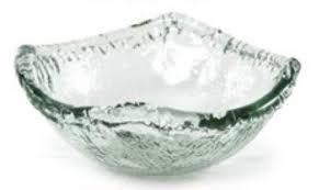 Primitive Artisan   Iceberg Sm Square Salad Bowl PRA-240 $15.00