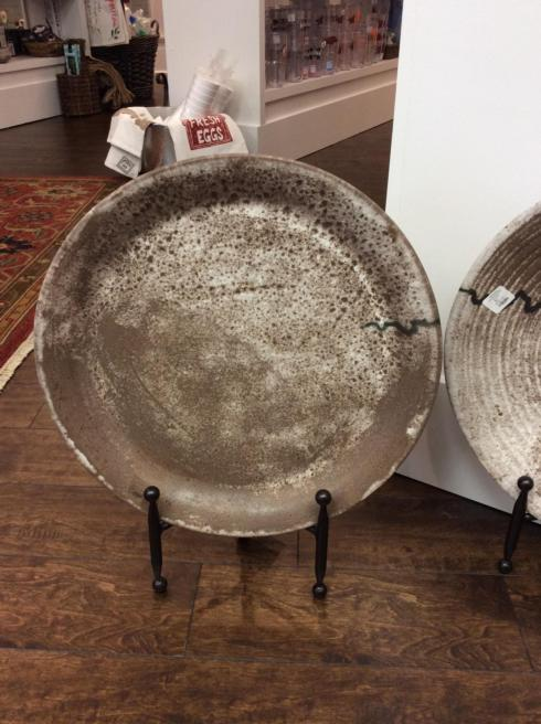 McCarty Pottery   Large Round Flat Tray Assorted MCP-554 $322.50