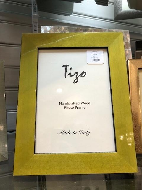 Tizo Designs   5x7 Green Wood Frame TIZ-841 $38.50