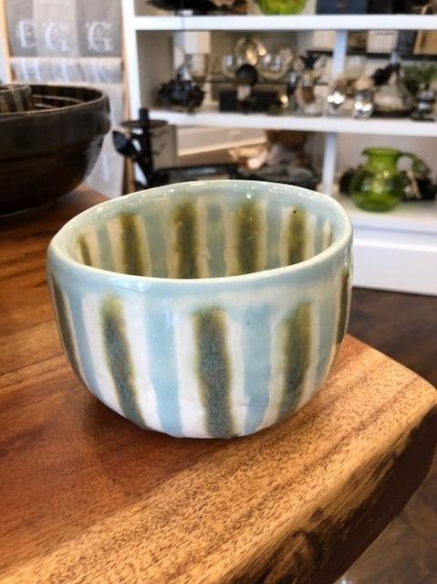 Good Earth Pottery  Teal Rice Bowl GOE-575 $35.50