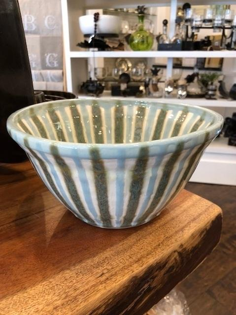 Good Earth Pottery  Teal Large Serving Bowl GOE-570 $105.00