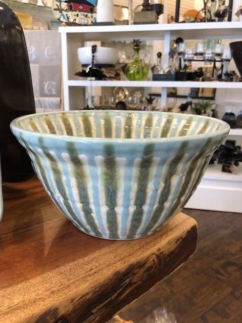 Good Earth Pottery  Teal XL Nesting Bowl GOE-580 $140.00
