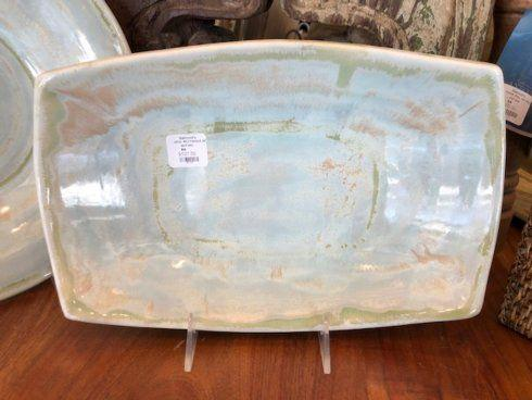 Good Earth Pottery  Opal Rectangular Serving Bowl GEP-343 $107.50