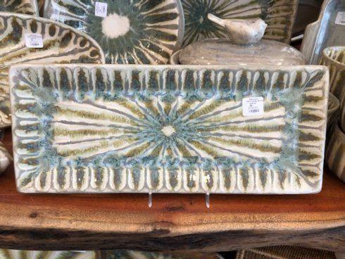 Good Earth Pottery  Grey Goose Rectangular Bread Tray GOE-440 $118.50