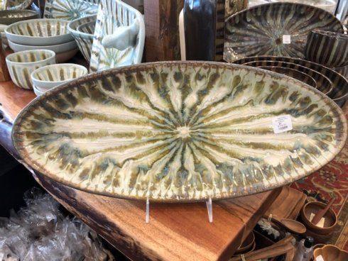 Good Earth Pottery  Sparrow Bread Tray GOE-318 $118.50