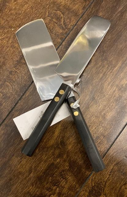 Babcock Exclusives  Roost Ebonized Wood Cheese Knives set/2 RST-024 $61.00