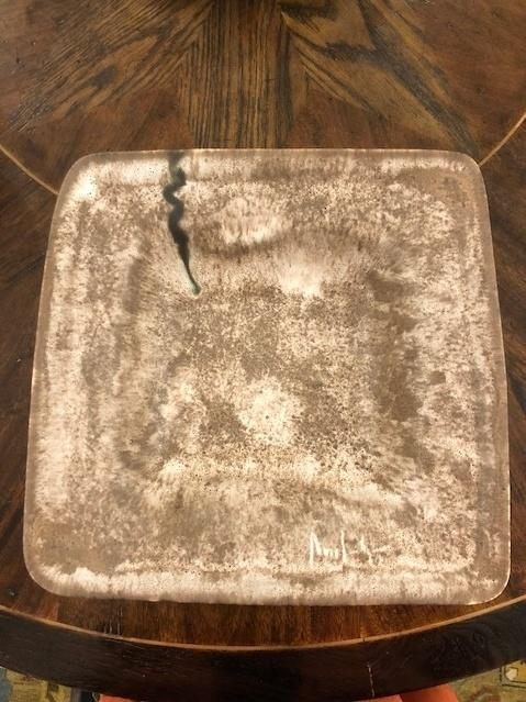 McCarty Pottery   Large Flat Square Bowl w/ Lip Assorted MCP-286 $86.00