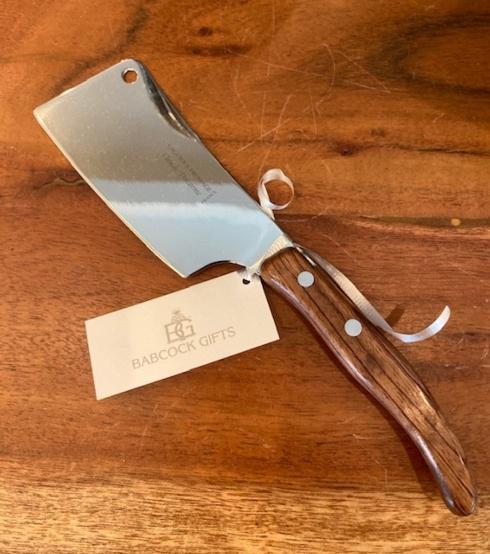 Claude Dozorme   Exotic Wood Cheese Cleaver CDZ-064 $30.00