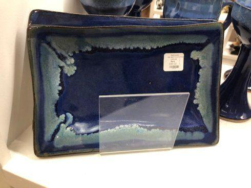 Babcock Exclusives  Kerry Brooks Pottery Small Rectangular Platter Straight Edge No Glass Assorted KER-286 $43.00
