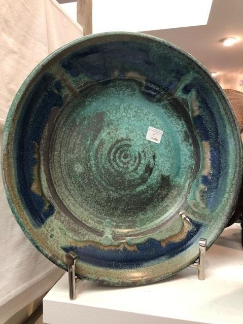Babcock Exclusives  Kerry Brooks Pottery Jumbo Platter w/Rim Assorted KER-275 $159.00
