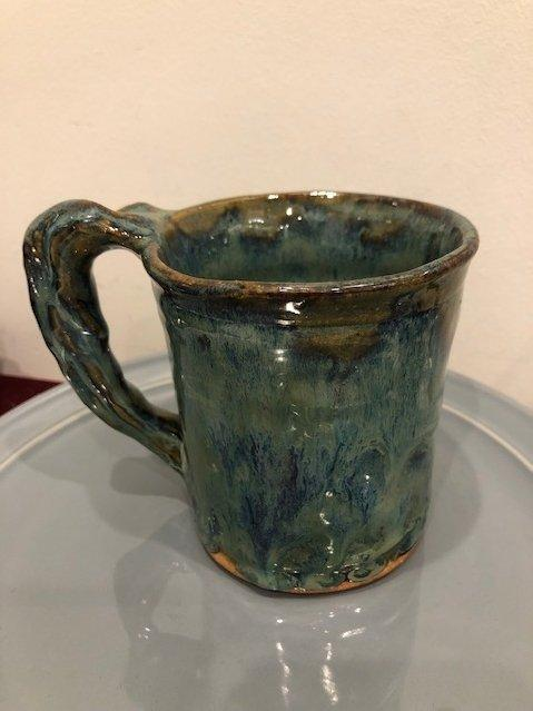 Babcock Exclusives  Miller\'s Mud Mill Pottery Medium Mug Assorted MMM-011 $40.00
