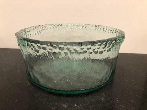Primitive Artisan   Iceberg Large Round Garden Bowl PRA-243 $56.00