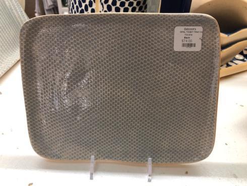 Terrafirma  Opal Honeycomb Tidbit Tray TCI-218 $74.00