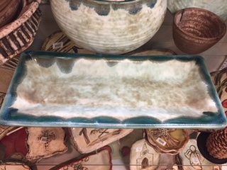 McCarty Pottery   Small Asparagus Tray Assorted MCP-195 $81.00