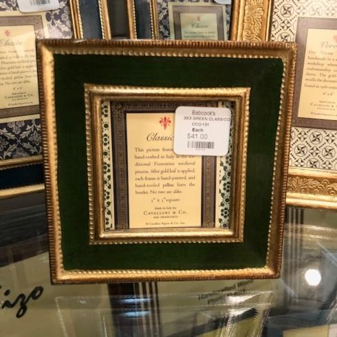 Cavallini Papers & Co.   Green Classico 3x3 Frame CCO-131 $41.00