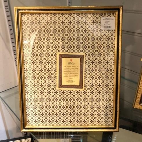Cavallini Papers & Co.   Urbino Black 8x10 Frame CCO-207 $72.00