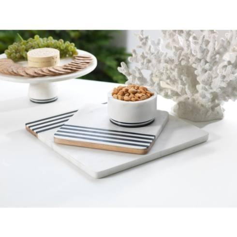 Zodax   Large Marine Marble & Wood Cheese Board ZOD-060 $96.00