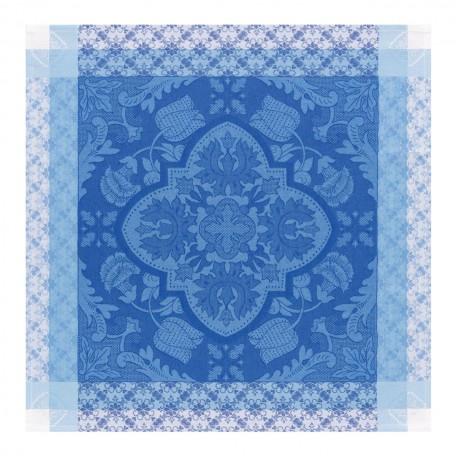 Le Jacquard Francais   Azulejos Blue China Napkin LJ-528 $23.00