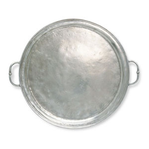 Match   Small Round Tray w/ Handles MTH-275 $340.00