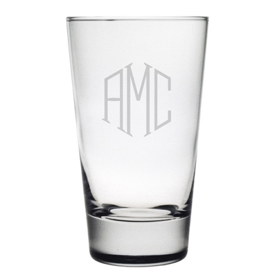 Susquehanna Glass   Hiball 3 Letter Classic Set/4 SQG-029 $60.00