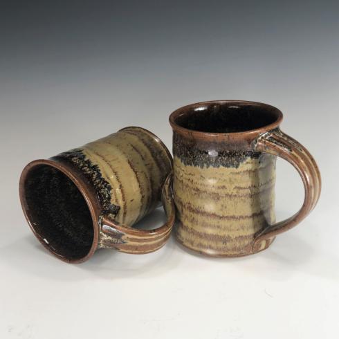 Babcock Exclusives  Steve Tubbs Pottery Antique Iron Large Mug 14oz. STP-128 $26.00