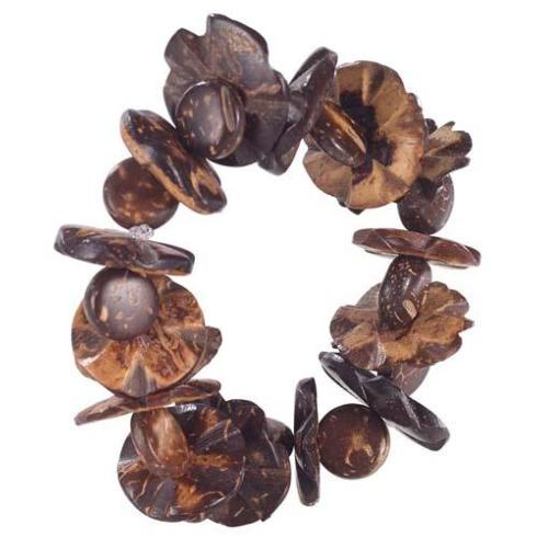 Bodrum   Garland Brown Napkin Ring BDR-198 $9.00