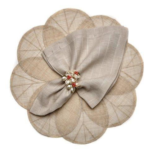 Natural Sinamay Flower Mat DRH-202 collection with 1 products