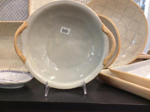 Terrafirma  Opal Honeycomb Vegetable Bowl w/Handles TCI-207 $110.00
