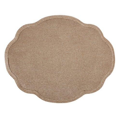 Deborah Rhodes   Oval Scallop Mat Specify Color DRH-987 $44.00