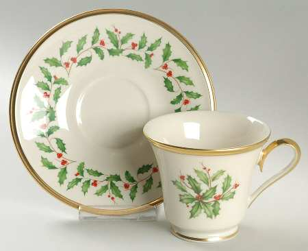 Lenox  Holiday Cup and Saucer LEN-644 $53.00