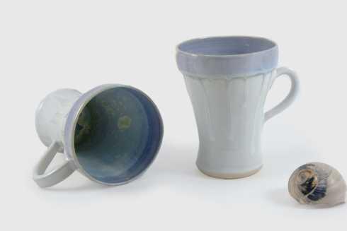 Alison Evans   Pearl Tall Coffee Mug AEC-175 $56.00
