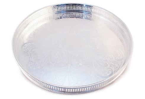 "Corbell Silver   14"" Round Gallery Tray CBL-095 $358.00"
