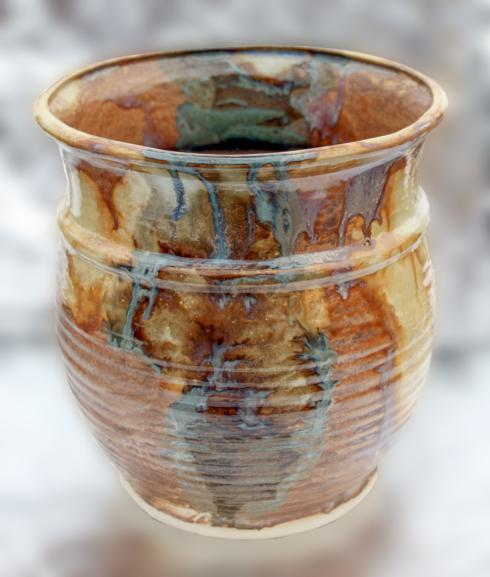 Babcock Exclusives  Michael Satterfield Pottery Medium Utensil Holder Assorted SFP-020 $65.00