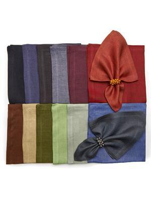 Olive Rustic Weave Cocktail Napkins set/4 DRH-201 collection with 1 products