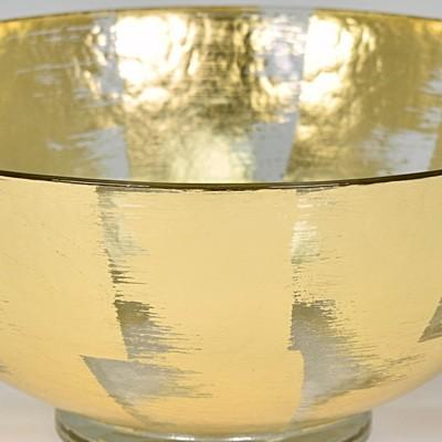 "$154.00 21"" Gold Slash Serving Tray TCH-064"
