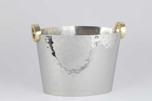 Dessau   Nickel/Gold Ring Wine Bucket DES-175 $182.00