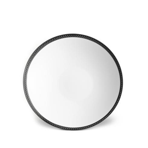 L'Objet  Dinnerware Soie Tressee Black Soup Plate LO-374 $56.00