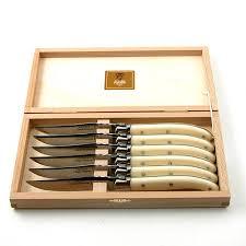 Claude Dozorme   Natural Steak Knives set/6 CDZ-030 $175.00