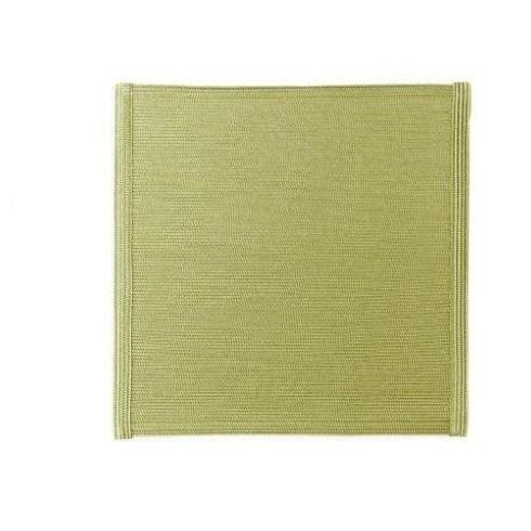 "$21.00 15"" Square Mat Moss/Canary DRH-068"