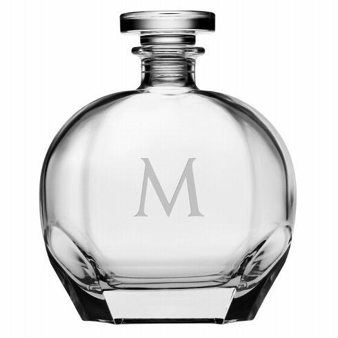 Susquehanna Glass   Puccini Decanter 3 Letter Classic SQG-230 $60.00