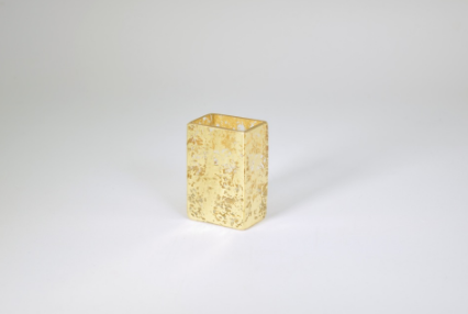 Tamara Childs   Rectangular Mini Vase Gold Assorted TCH-019 $26.00