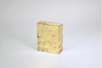 $48.50 Large Vase Gold Wabi Sabi TCH-181