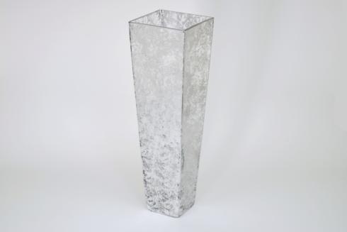 $110.00 12in Taper Vase Wabi Sabi silver TCH-189