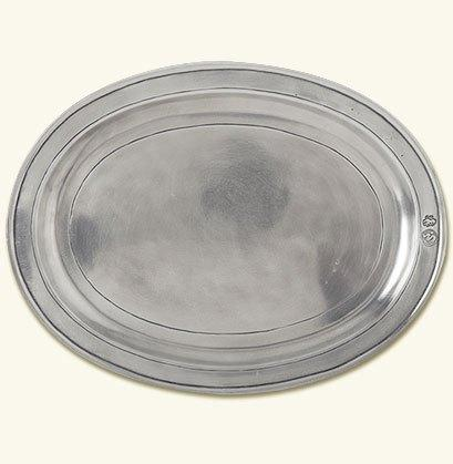 $160.00 Oval Incised Tray Sm/Med MTH-298