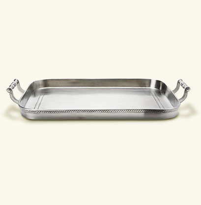Medium Rectangular Gallery Tray w/Handles MTH-513 collection with 1 products