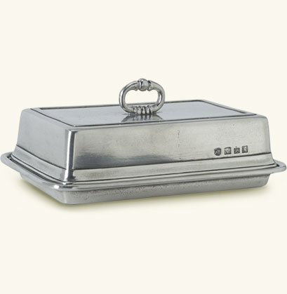 Match   Double Butter Dish w/cover MTH-354 $270.00