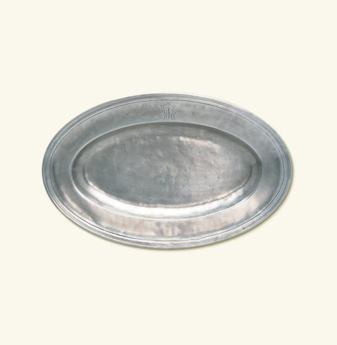 "$449.00 Oval Platter "" WL"" MTH-512"