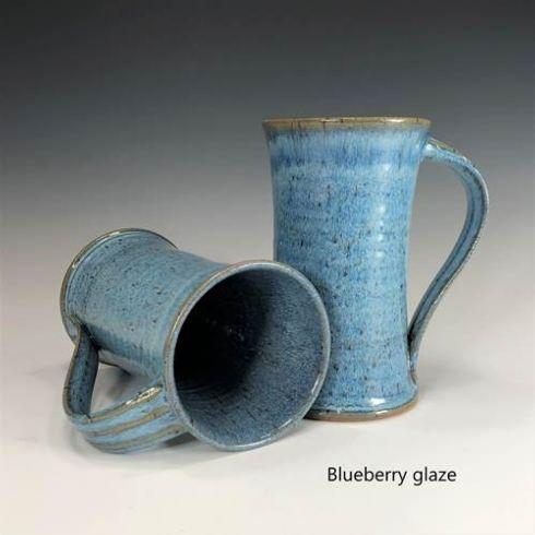 Babcock Exclusives  Steve Tubbs Pottery Blueberry Tall Cafe Mug STP-138 $30.00