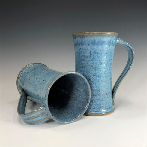 Babcock Exclusives  Steve Tubbs Pottery Blueberry Tall Cafe Mug STP-138 $34.00